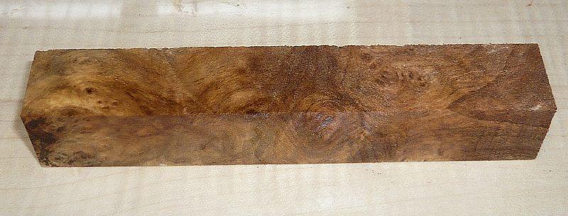 Walnut, Caucasian Burl Pen Blank 120 x 20 x 20 mm