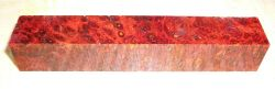 Maidou Burl, Golden Amboina Pen Blank stabilized 120 x 20 x 20 mm