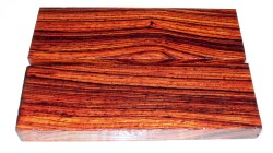 Cocobolo Knife Scales 120 x 40 x 10 mm