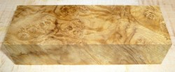 Laurel Burl Knife Blank 120 x 40 x 30 mm