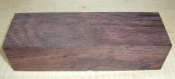 Rosewood, East Indian Knife Blank 120 x 40 x 30 mm