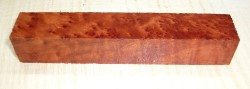 Redwood Burl Pen Blank 120 x 20 x 20 mm