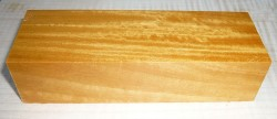 Satinwood, East Indian Knife Blank 120 x 40 x 30 mm