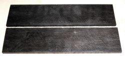 Ebony Razor Knife Scales 140 x 40 x 4 mm
