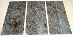 Buckeye Burl Griffschalen stabilisiert 150 x 40 x 4 mm