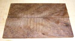 Nussbaum Maser, kaukasisch Rasierer-Griffschalen 140 x 40 x 4 mm