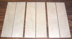 Weißbuche Griffschalen 150 x 40 x 4 mm