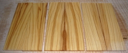 Olive Razor Scales 150 x 40 x 4 mm