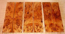 Yew Burl AAA Knife Scales 140 x 40 x 4 mm