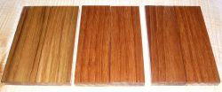 Teak Pair of Knife Scales 120 x 40 x 10 mm