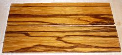Serpentwood, Marmorholz Rasierer-Griffschalen 140 x 40 x 4 mm