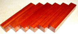 Bloodwood, Red Satinwood Pen Blank 120 x 20 x 20 mm