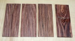 Kingwood Razor Scales 150 x 40 x 4 mm