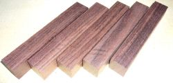 Rosewood, East Indian Pen Blank 120 x 20 x 20 mm