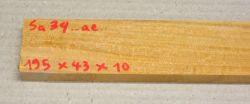 Sa034 Satinwood, East Indian 195 x 43 x 10 mm