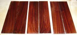 Pau Ferro, Santos Rosewood Razor Knife Scales 150 x 40 x 4 mm