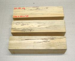 Bt014 Baitoa, St. Domingo Boxwood Flute spalted 200 x 50 x 50 mm