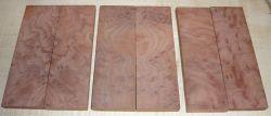 Redwood Burl Vavona Burl Knife Scales 120 x 40 x 10 mm