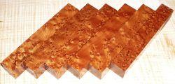 Ahorn, Vogelaugenahorn Pen Blank getempert 120 x 20 x 20 mm
