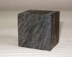Eb075 Ebony Ring Blank 35 x 40 x 40 mm