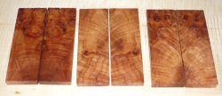 Maple Burl (Oregon-) Knife Scales 120 x 40 x 10 mm