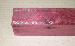 Am134 Amaranth, Purpurholz 300 x 50 x 50 mm