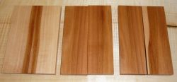 Apple Wood Knife Scales Pair 120 x 40 x 10 mm