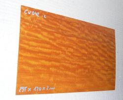 Cv042 Paela, Chakte Viga Sägefurnier 295 x 170 x 2 mm