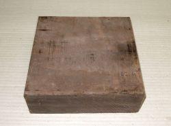 Gb029 Coraçao de Negro, Gombeira Rohling 160 x 160 x 52 mm