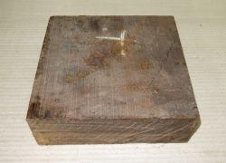 Gb035 Coraçao de Negro, Gombeira Rohling 180 x 180 x 52 mm