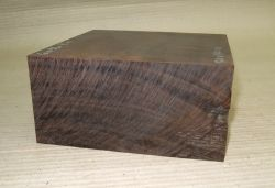 Gb036 Coraçao de Negro, Gombeira Bowl Blank 170 x 170 x 80 mm