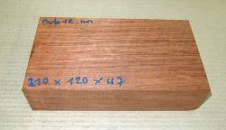 Bub012 Bubinga 210 x 120 x 47 mm