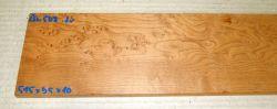 Ah508 Vogelaugenahorn getempert 515 x 95 x 10 mm