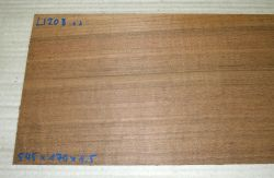 Ll208 Laurel, Freijo Sägefurnier 545 x 170 x 1,5 mm