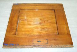 Ki507 Antiker Kirschbaum, Möbelteil Massivholz Kirsche 440 x 385 x 20 mm