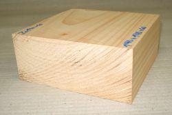 Ze014-6 Echte Libanon-Zeder, Libanon Zedernholz 140 x 140 x 60 mm