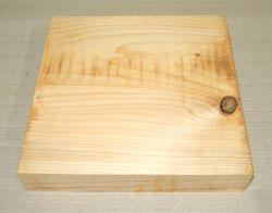 Ze027-5 Libanon-Zeder, Libanon Zedernholz 275 x 275 x 50 mm