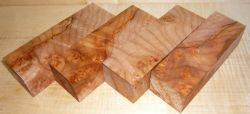 Ahorn, Quilted Maple Griffblock 120 x 40 x 30 mm