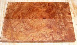 Elm Burl Knife Scales 120 x 40 x 10 mm