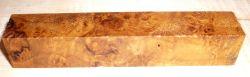 Sindora Burl Pen Blank 120 x 20 x 20 mm