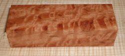 River Red Gum Moire, geriegelter Griffblock 120 x 40 x 30 mm