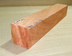 Eu011 River Red Gum, roter Eukalyptus geriegelt 400 x 60 x 60 mm
