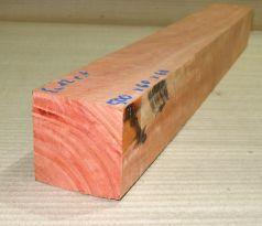 Eu012 River Red Gum, roter Eukalyptus geriegelt 500 x 60 x 60 mm