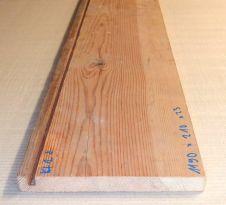 Kf2 Uraltes Kiefernholzbrett aus antikem Möbel 1190 x 210 x 23 mm