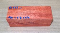 Bl133 Satiné, Blutholz 150 x 54 x 54 mm