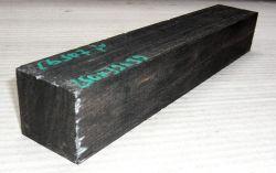 Eb507 Ebony Blank B-graded 250 x ca. 39 x ca. 39 mm