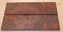 Nussbaum Maser, Schwarznuss Rasierer-Griffschalen 140 x 40 x 4 mm