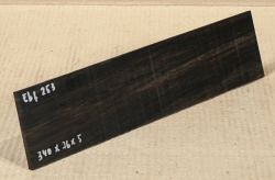 Ebf253 Ebony Saw Cut Veneer 340 x 76 x 5 mm