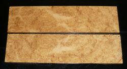 Robinie-Maser Griffschalen 120 x 40 x 10 mm