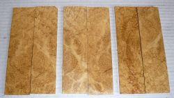 Black Locust Burl Scales 120 x 40 x 10 mm